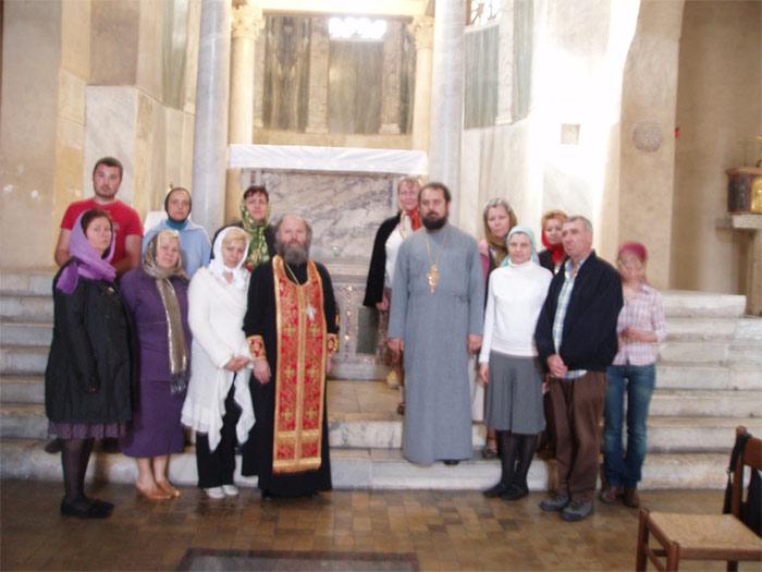 Паломничество к мощам великомученика Георгия Победоносца